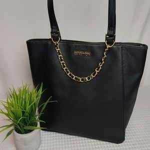 🌼3/$30   Kenneth Cole Reaction Tote Black/Gold